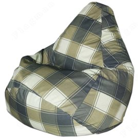 Бескаркасное кресло-мешок Груша Шерлок