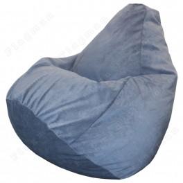 Кресло-мешок Груша Verona 37 (Denim blue)