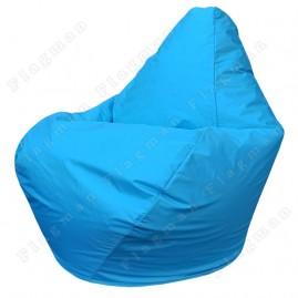 Кресло-мешок Груша Мини синее (без внутреннего чехла)