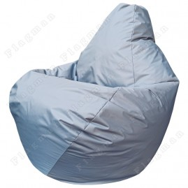 Кресло-мешок Груша Мини тёмно-серое