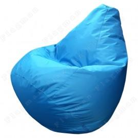 Кресло-мешок Груша Макси голубое