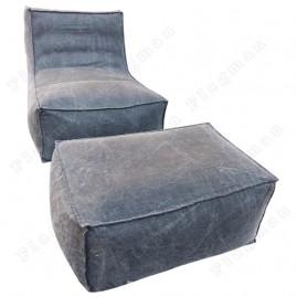 Кресло-мешок Лэйла + пуф