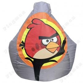 Кресло-мешок Angry Birds (черный)