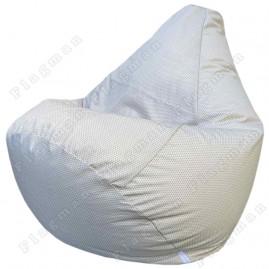 Кресло-мешок Груша Соты (бежевый)