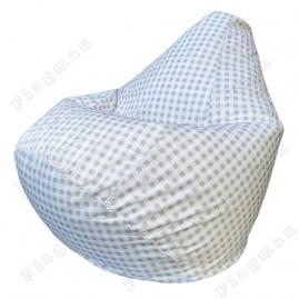 Кресло-мешок Груша Клетка
