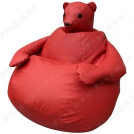 Кресло-мешок Мишка (красный)
