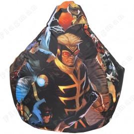 Кресло-мешок Груша герои Марвел