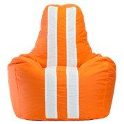 """Живые кресла-мешки """"Спортинг"""" с полосками (оксфорд, дюспо)"""